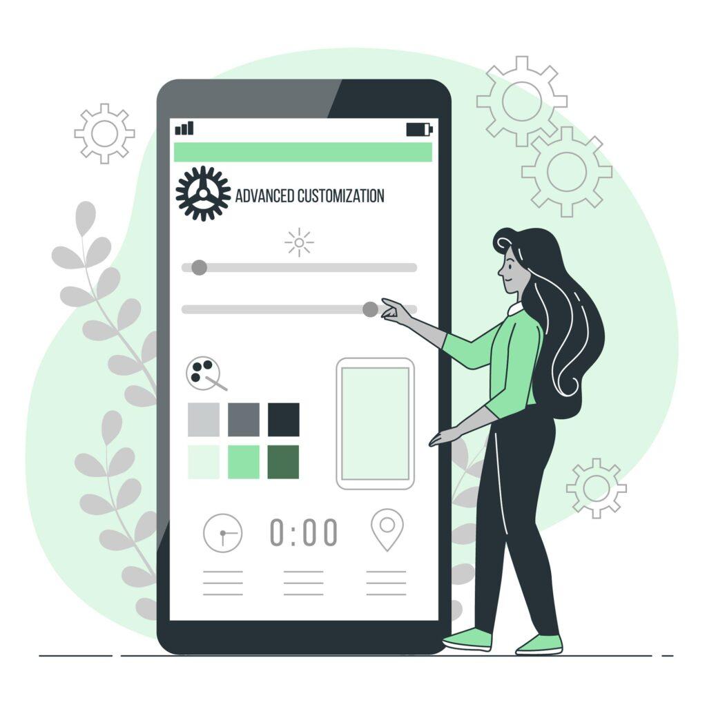 User Experience Customization fashion